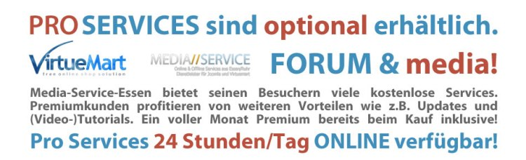 Pro Online Services - Forum & media!